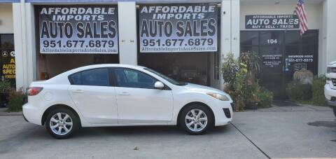 2010 Mazda MAZDA3 for sale at Affordable Imports Auto Sales in Murrieta CA
