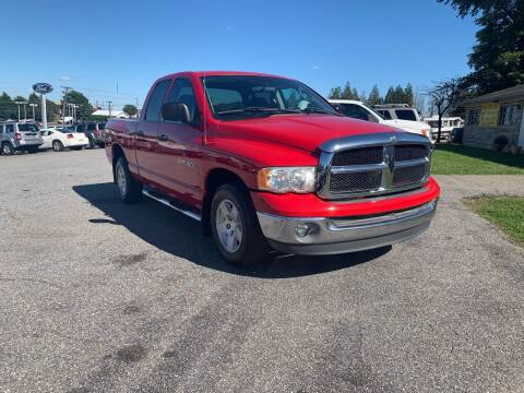 2003 Dodge Ram Pickup 1500 for sale at Hillside Motors Inc. in Hickory NC