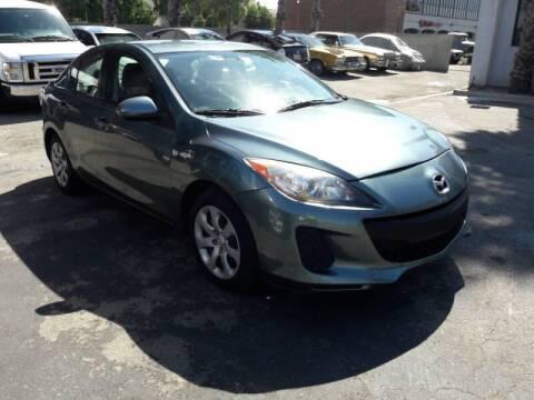 2012 Mazda MAZDA3 for sale at In-House Auto Finance in Hawthorne CA