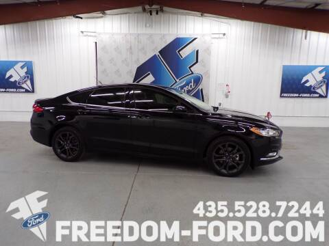 2018 Ford Fusion for sale at Freedom Ford Inc in Gunnison UT
