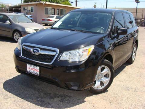 2014 Subaru Forester for sale at L.A. Motors in Azusa CA