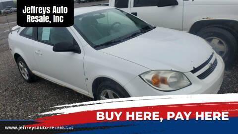 2006 Chevrolet Cobalt for sale at Jeffreys Auto Resale, Inc in Clinton Township MI