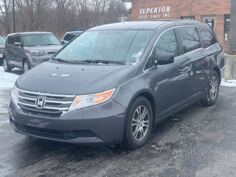 2013 Honda Odyssey for sale at Superior Used Cars Inc in Cuyahoga Falls OH