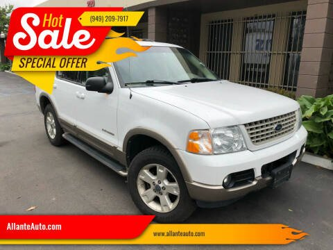 2004 Ford Explorer for sale at AllanteAuto.com in Santa Ana CA