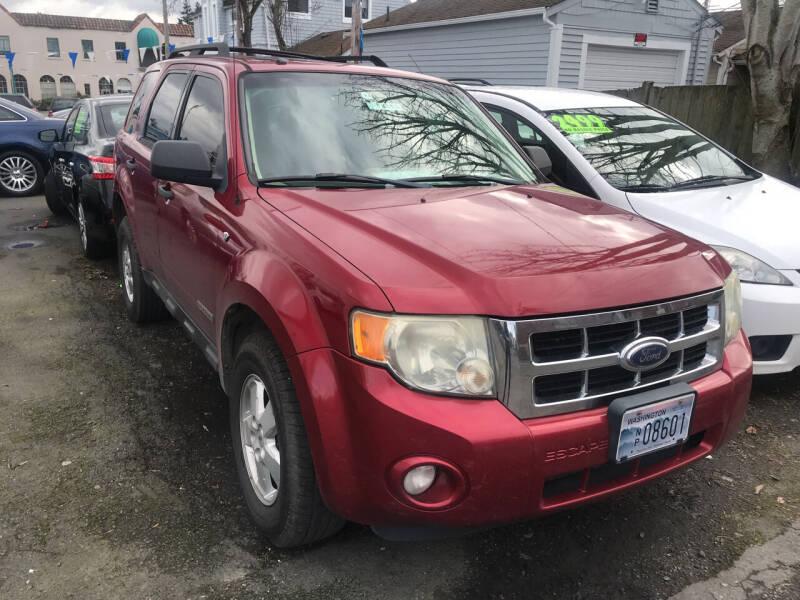 2008 Ford Escape for sale at American Dream Motors in Everett WA