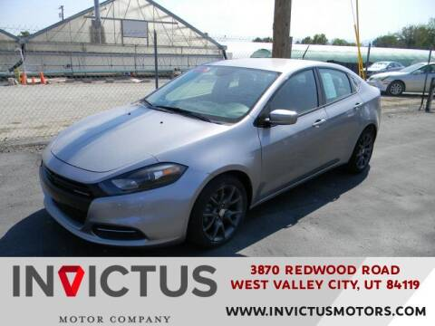2016 Dodge Dart for sale at INVICTUS MOTOR COMPANY in West Valley City UT