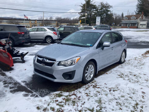 2012 Subaru Impreza for sale at JERRY SIMON AUTO SALES in Cambridge NY