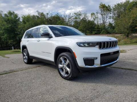 2021 Jeep Grand Cherokee L for sale at Vance Fleet Services in Guthrie OK