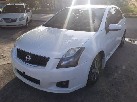 2012 Nissan Sentra for sale at LAND & SEA BROKERS INC in Deerfield FL