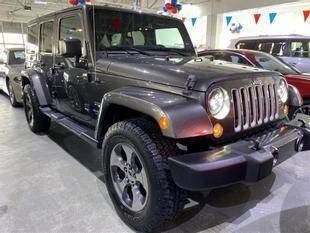 2016 Jeep Wrangler Unlimited for sale at Best Auto Outlet in Floral Park NY