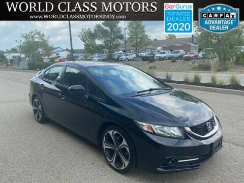 2014 Honda Civic for sale at World Class Motors LLC in Noblesville IN