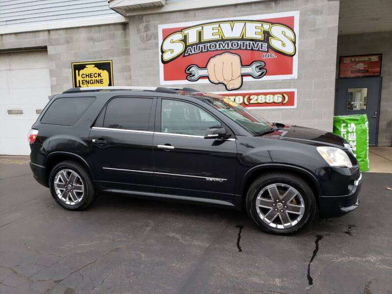 2012 GMC Acadia for sale at Steve's Automotive Inc. in Niagara Falls NY