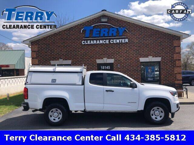 2017 Chevrolet Colorado for sale at Terry Clearance Center in Lynchburg VA