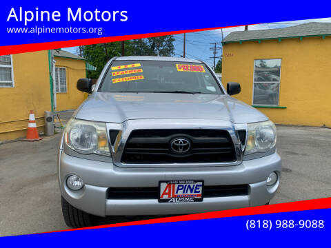2007 Toyota Tacoma for sale at Alpine Motors in Van Nuys CA