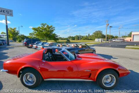 1973 Chevrolet Corvette for sale at Top Classic Cars LLC in Fort Myers FL