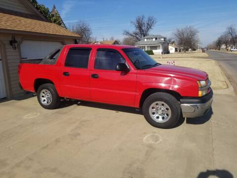 2003 Chevrolet Avalanche for sale at Eastern Motors in Altus OK