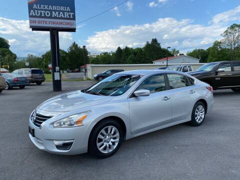 2014 Nissan Altima for sale at Alexandria Auto Mart LLC in Alexandria PA