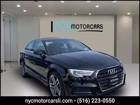 2018 Audi A3 for sale at NYC Motorcars in Freeport NY