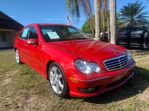 2007 Mercedes-Benz C-Class for sale at Mox Motors in Port Charlotte FL