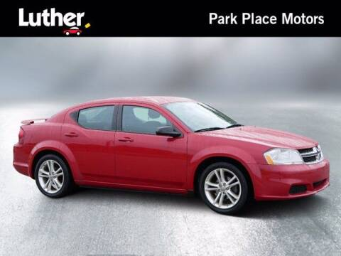 2012 Dodge Avenger for sale at Park Place Motor Cars in Rochester MN