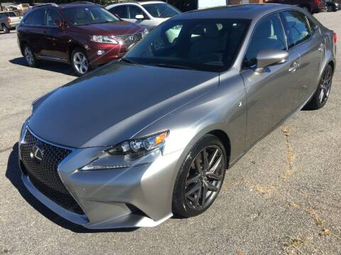 2016 Lexus IS 200t for sale at Signal Imports INC in Spartanburg SC