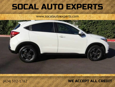 2018 Honda HR-V for sale at SoCal Auto Experts in Culver City CA