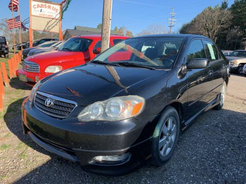 2005 Toyota Corolla for sale at CARS R US in Caro MI