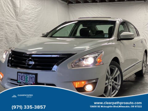 2014 Nissan Altima for sale at CLEARPATHPRO AUTO in Milwaukie OR
