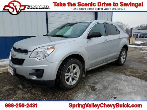 2013 Chevrolet Equinox for sale at Spring Valley Chevrolet Buick in Spring Valley MN