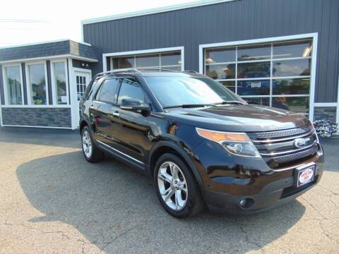 2013 Ford Explorer for sale at Akron Auto Sales in Akron OH