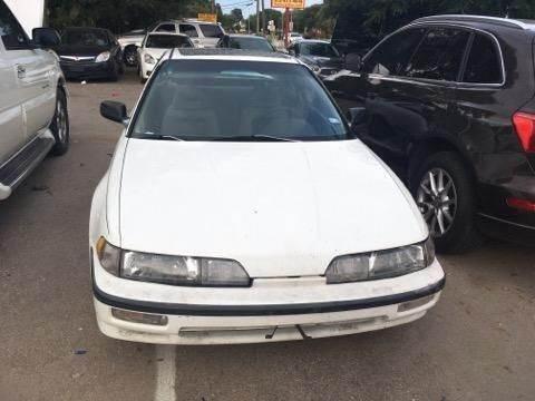 1990 Acura Integra for sale at Bad Credit Call Fadi in Dallas TX