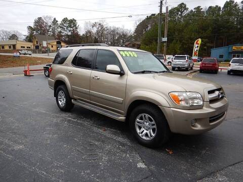 2005 Toyota Sequoia for sale at C & C MOTORS in Chattanooga TN
