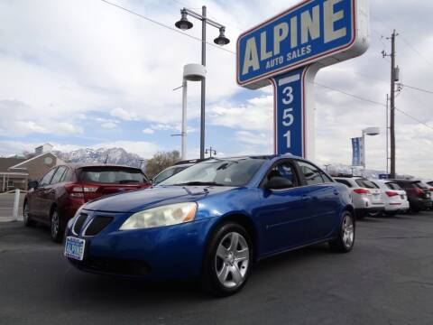 2007 Pontiac G6 for sale at Alpine Auto Sales in Salt Lake City UT