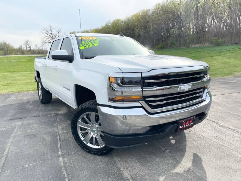 2016 Chevrolet Silverado 1500 for sale at A & S Auto and Truck Sales in Platte City MO