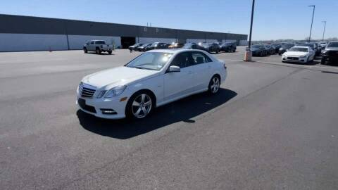 2012 Mercedes-Benz E-Class for sale at CarZip in Indianapolis IN