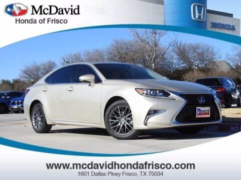 2018 Lexus ES 350 for sale at DAVID McDAVID HONDA OF IRVING in Irving TX
