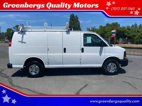 2014 Chevrolet Express Cargo for sale at Greenbergs Quality Motors in Napa CA