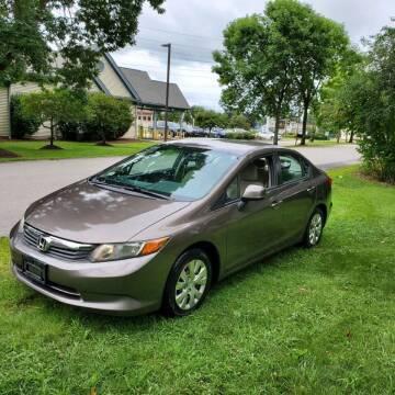 2012 Honda Civic for sale at Stellar Motor Group in Hudson NH