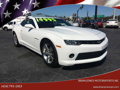 2014 Chevrolet Camaro for sale at Brian Jones Motorsports Inc in Danville VA