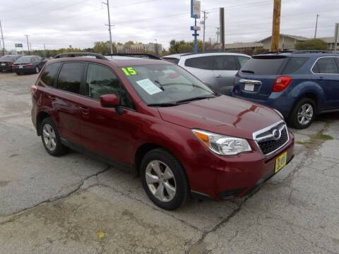 2015 Subaru Forester for sale at Regency Motors Inc in Davenport IA
