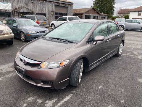 2010 Honda Civic for sale at Paul Hiltbrand Auto Sales LTD in Cicero NY