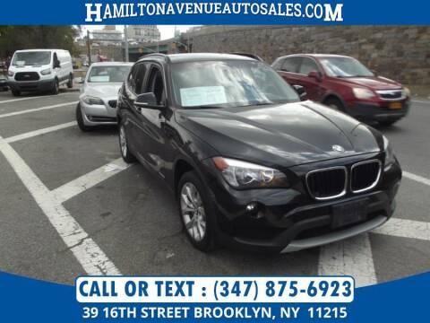 2014 BMW X1 for sale at Hamilton Avenue Auto Sales in Brooklyn NY