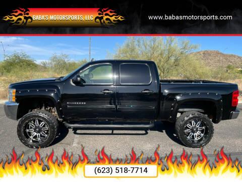 2013 Chevrolet Silverado 1500 for sale at Baba's Motorsports, LLC in Phoenix AZ