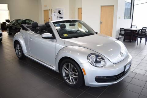 2013 Volkswagen Beetle Convertible for sale at BMW OF NEWPORT in Middletown RI