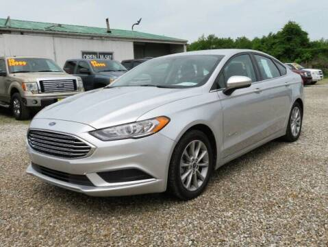 2017 Ford Fusion Hybrid for sale at Low Cost Cars North in Whitehall OH