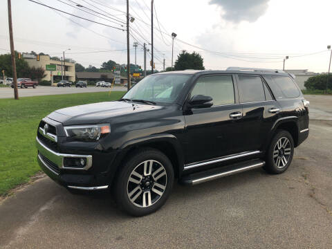 2018 Toyota 4Runner for sale at Haynes Auto Sales Inc in Anderson SC
