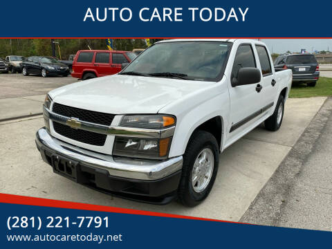 2007 Chevrolet Colorado for sale at AUTO CARE TODAY in Spring TX