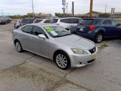 2006 Lexus IS 250 for sale at Regency Motors Inc in Davenport IA