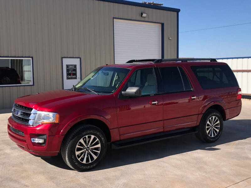 2017 Ford Expedition EL for sale at TEXAS CAR PLACE in Lubbock TX