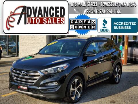2016 Hyundai Tucson for sale at Advanced Auto Sales in Tewksbury MA